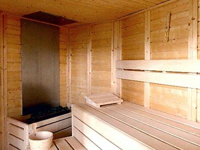 Finnische Sauna im goVital